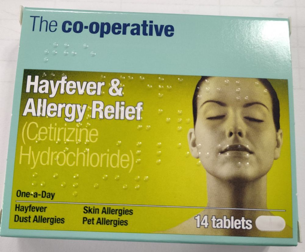 Hayfever and Allergy Relief 14 Tablets